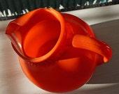 Blood Orange Vintage Tilt Ball Pitcher