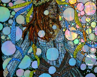 Stained Glass Mosaic Wall Mural