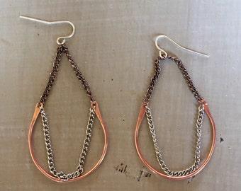 Jump rope earrings