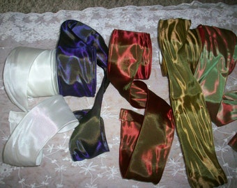 Luxury Gifts opalescent vintage side french wire ribbon yardage vintage supplies
