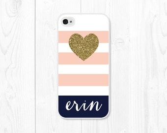 Personalized iPhone 7 Case Glitter iPhone SE Case Glitter iPhone 6 Case Monogram iPhone 6s Case Gold iPhone 5c Case Monogram Phone Case