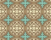 Aviary 2 Scrollwork in Carmel by Joel Dewberry Cotton Quilting Fabric