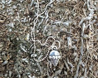 I Scream for Ice Cream Cone Fine Silver Pendant with Sterling Silver Chain