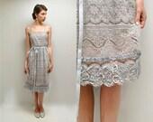70s Lace Dress  //  Lavender Dress  //  LILAC DREAM