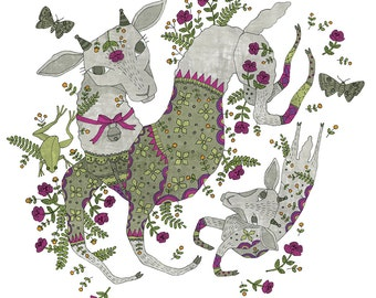Year of the Sheep print