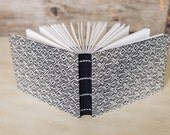 Woven fabric hardcover journal, guest book, or sketchbook