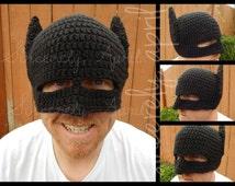 Crochet Batman Hat and Mask
