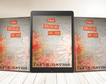 """Premade eBook & Print Book Cover Design Package """"The Hour of Us"""" Literary Fiction Romance Love Young New Adult YA"""