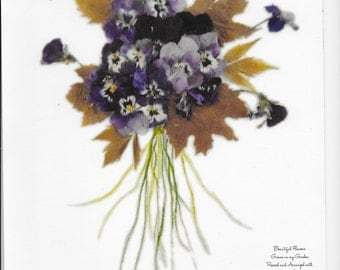 Dried Flower Floral Mix 1 Print