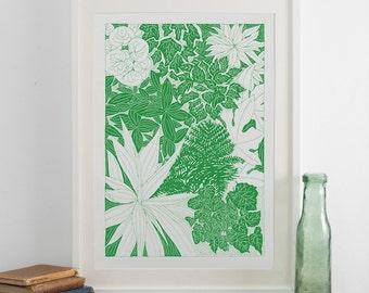 Flora Poster Print