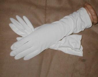 Vintage Off-White Dress Gloves