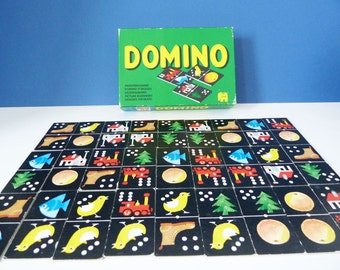 Vintage Dutch picture dominos