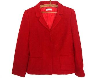 Vintage Red Jacket.