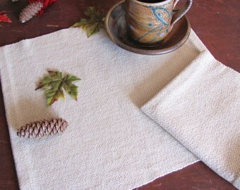Rustic French Country Kitchen, Cottage Farmhouse Dining Home Decor Cotton Cloth Napkin, Picnic Basket Baked Goods Table Serving Cloth, Woven