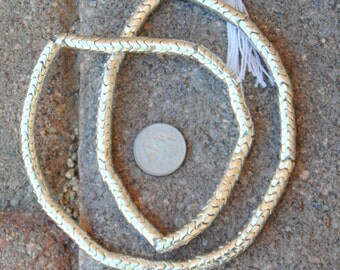 Indian Silver Metal Snake Beads