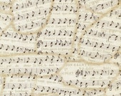 Jessica's Sheet Music - Timeless Treasures - 1 yard - More Available - BTY