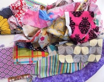 Girls fabric scraps