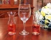 Personalized Engraved Wine Ceremony Set, Wedding Wine Ceremony Set, Wedding Keepsake, Wedding Unity Set