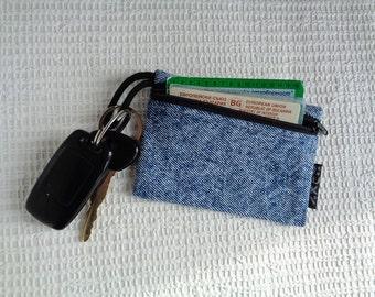 4 in 1 -  car keychain / key pouch / keychain wallet  / coin purse / card holder