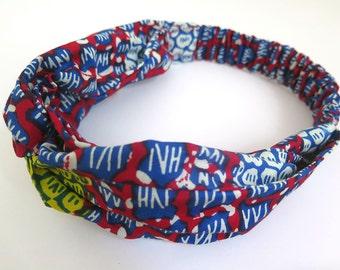 "Knotted ""Tulum"" Beach Headband - Women Hairband Accessory, Cotton Head Band"