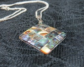 Abalone Shell Pendant, Abalone Necklace, Shell Jewelry Pendant