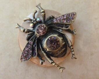 Jeweled Bee - Magnet