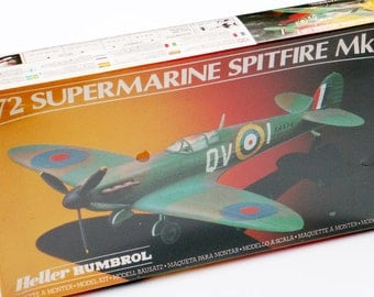 Airplane Model Supermarine Spitfire Mk 1 Plane 1:72 Scale Aircraft Kit