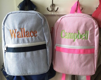 Backpack, Personalized Embroidered Toddler Backpack, Rucksack