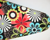 Bright Floral lroning Board Cover - Standard Ironing Board Cover - Flower Power - Ironing Cover - Laundry Room - Cleaning