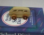 Child's Toy - Wooden Mini Van - Kids Toy - Wooden Car