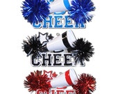 Cheerleader Personalized Christmas Ornaments Trophy-Coach, Team,Prep Squad, Girls Team Spirit- Blue, black or Red
