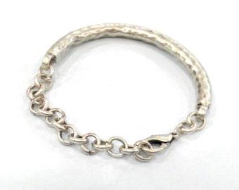 Silver Bracelet Components Findings Antique Silver Plated Bracelet Components Findings For Your Craft , G109