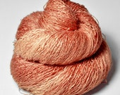Fading supernova aftermath OOAK - Tussah Silk Lace Yarn
