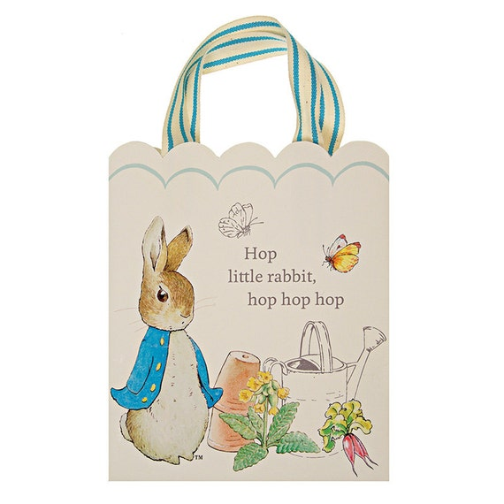Peter rabbit gift bags beatrix potter easter birthday baby il570xn negle Images