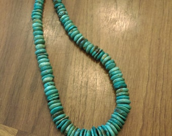 Price reduced - Natural Turquoise Necklace