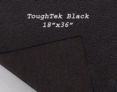 Toughtek Non slip Black Fabric 18 by 36 inches