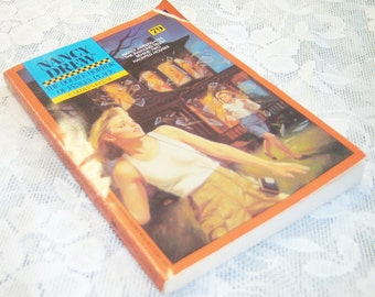 Nancy Drew mystery stories #79 The Double Horror of Fenley Place by Carolyn Keene copyright 1987 paperback book 116