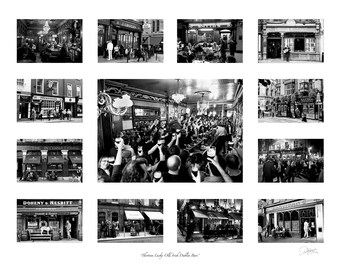 Thirteen Lucky Irish pubs, Irish photography, black and white photography Ireland, St. Patricks Day, Black & White Photography