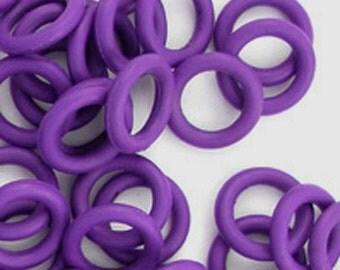 Rubber Rings: Purple, 10mm, #1088