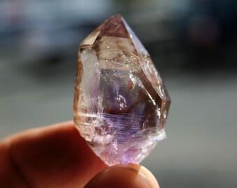 Brandberg Smokey Amethyst Purple Quartz Crystal Specimen