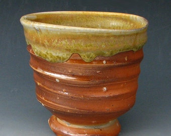 ANAGAMA TEA BOWL - Tea Cup - Wood-Fired Tea Bowl - Wood-Fired Whiskey Cup