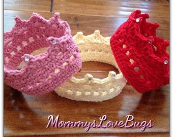 Crochet Crown Taira with Diamonds