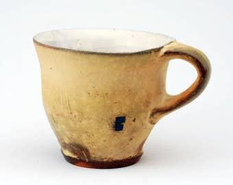 Mug with Teal Squares
