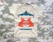 circus : organic baby top