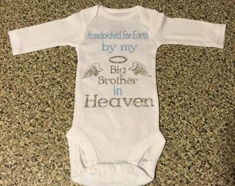 Handpicked onesie custom heaven