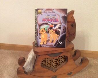 Little Golden Book - The Cave Monster