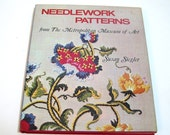 Needlework Patterns From The Metropolitan Museum Of Art By Susan Siegler, Vintage Book