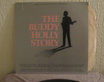 Buddy Holly vinyl record - Original - The Buddy Holly Story Vinyl - Vintage Record lp in EX+ to NM Condition.