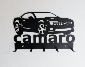 Camaro Sign Key Hat Rack 5th Generation Chevrolet
