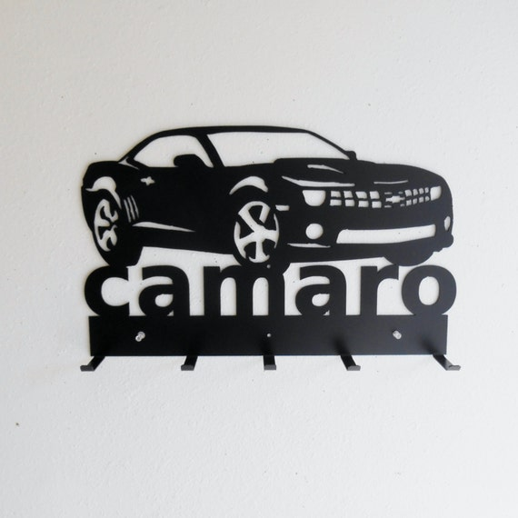 Camaro Sign Key Hat Rack 5th Generation Chevrolet